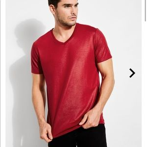 Guess Mason Yoke V-Neck Tee